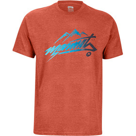 Marmot Rad T-shirt Homme, picante heather